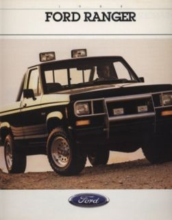 1988 Ford Ranger STX Truck CDN Sales Brochure Book