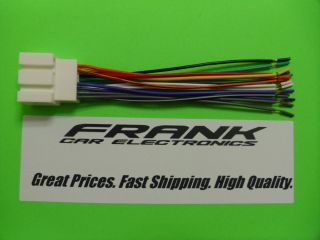 1999 2003 Ford F350 Aftermarket Radio Stereo Wire Wiring Harness