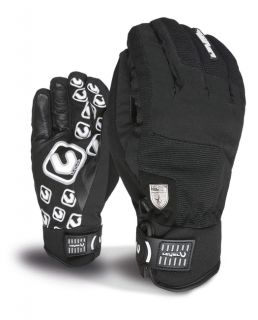 level suburban ski snowboard gloves black 12 13