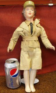 WWII Era Freundlich w A A C Doll 1 1940S