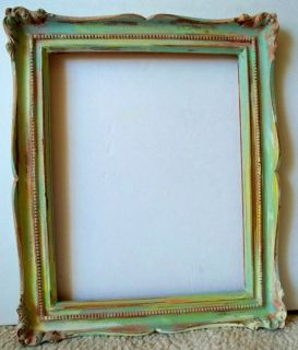 Painted Picture Frame Beach Shabby Cottage French Country Decor
