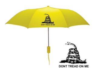 Tea Party Flag Umbrella Gadsden Snake Flag Design