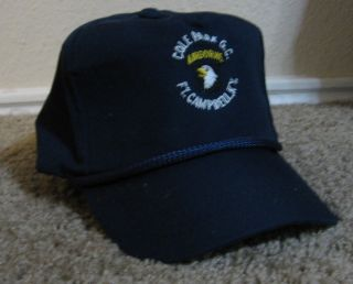 COLE PARK GOLF COURSE HAT CAP FORT CAMPBELL OSFA ADJUSTABLE 101ST