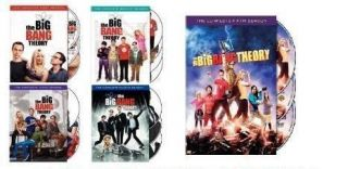 The Big Bang Theory DVD SET Seasons 1,2,3,4,5. New. Free UPS insured