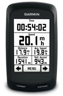 New Garmin Edge800 (TWM) GPS Bike Cycling Computer BLACK/BLUE