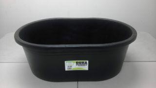 Heavy Duty 30 Gallon Plastic Oval Stock Tank Tub for Livestock