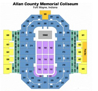 Keith Urban Tickets ft Fort Wayne Allen County FLR104