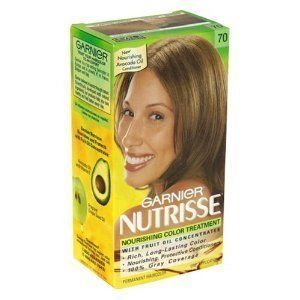 Garnier Nutrisse 70 Dark Natural Blonde Creme Haircolor