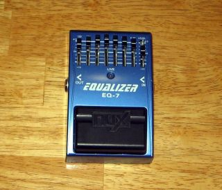 NUX EQ 7 Graphic Equalizer 7 band PLUS 15 to 15 db Level Control