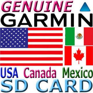 Garmin City Navigator NT USA North America Maps SD Card