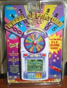 New Wheel of Fortune Slots by Tiger Electronic Handheld Slot Game