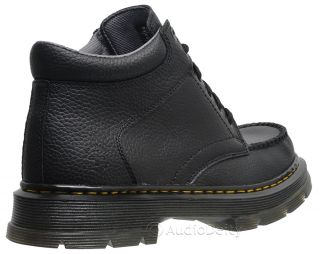 new★ Dr Martens Garvey Mens Black Leather Casual Ankle Boots Air