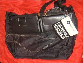 SAMSONITE CONVERTIBLE CROSSBODY HANDBAG SHOULDER BAG TOTE NWT PURSE TO