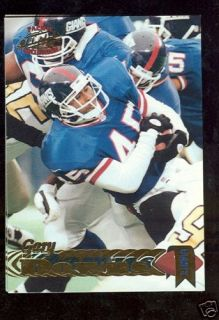 North Carolina State Gary Downs Card New York Giants