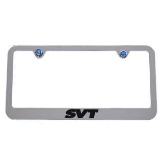 2010 2011 2012 2013 Ford F 150 SVT Raptor Chrome License Plate Frame