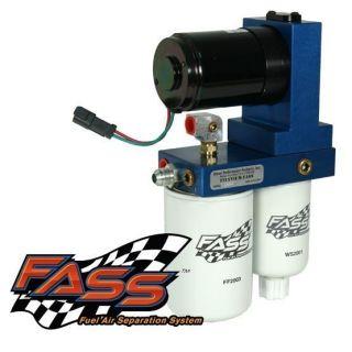 Fass Titanium Fuel System 95GPH 98 5 04 Dodge Cummins 5 9L T D08 095G