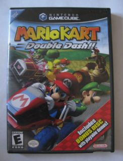 Nintendo Gamecube Game   Mario Kart Double Dash Special Edition Bonus