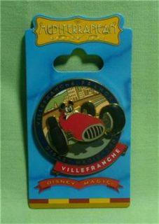 Line Disney Magic 2007 Mediterranean Mickey Mouse France Pin