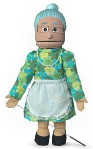 25 Pro Puppets Full Body Hispanic Granny Puppet