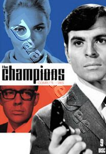 The Champions   Complete Series NEW PAL Cult 9 DVD Set Stuart Damon A