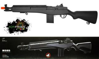 Double Eagle M305F M1 Garand M14 Airsoft Sniper Rifle 300FPS