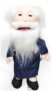 14 Pro Puppets Full Body Hand Glove Puppet Asian Grandpa