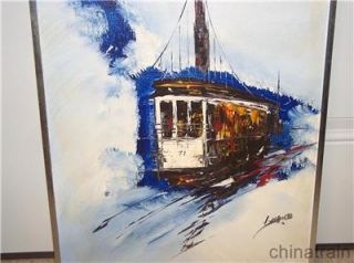 San Francisco Cable Car 71 Kee Fung NG Gallery Painting