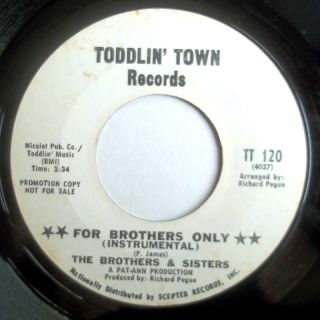 funk jazz mod 45 brothers sisters make me sad for brothers only