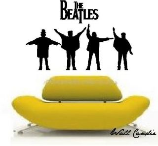 Giant Custom Vinyl Wall Lettering Decal The Beatles