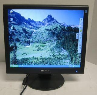 Gateway FPD1765 17 inch LCD Monitor Flat Panel Display VGA DVI 264G
