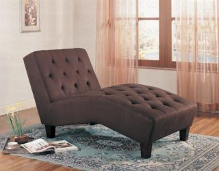 Brown Chaise Lounge Chair Reclining Furniture