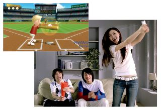 WII SPORTS INTERACTIVE BASEBALL BOWLING GOLF TENNIS BOXING FUN GAMES