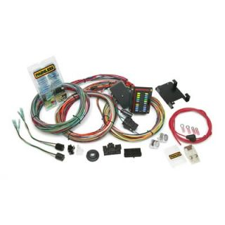 Harness,20 Circuit, Front Fuse Block, Spade Fuse, Universal Truck, Kit