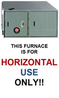 Rheem RGJF 60 000 BTU 94 8 Modulating Gas Furnace Horz