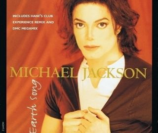 Michael Jackson Earth Song CD Single Epic 1995
