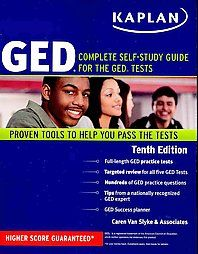 Kaplan GED Complete Self Study Guide for The GED Tests by Caren Van