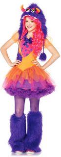 Junior Girls Furrrocious Frankie Costume