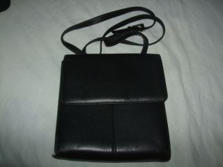 Franklin Covey Black Nappa Soft Leather 1 2 Zipper Wallet 1 2 Purse w