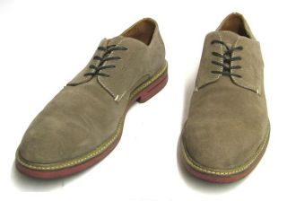 Murphy Mens Dress Shoes Tan Suede Garris Plain Toe Oxfords 9 M
