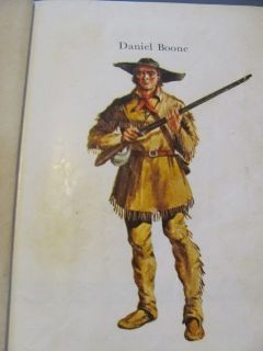 Sory and Biography of Daniel Boone Shannon Gars HB 1965 Heroes