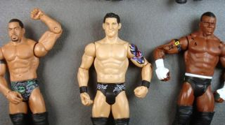 6X WWE Nexus Wrestler Wrestling Action Figure Kid Toy Wade Barrett
