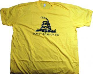 Tread On Me, American Flag, American Apparel, Marines USA Gadsden XXL