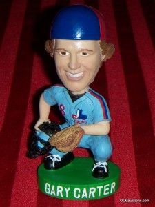 Gary Carter Montreal Expos SGA Baseball Bobblehead Collectible w Box