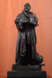 Galileo Galilei Bronze Statue Sculpture Uffizi Astronomer Scientific