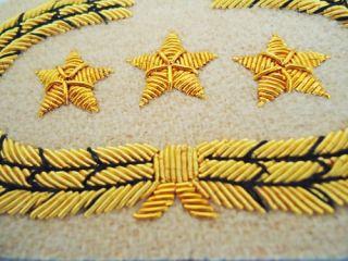Civil War Rebel Pair Confederate Generals Collar Tabs Insignia Set UK