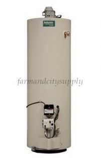 Reliance 640GBFT Tall Natural Gas Water Heater 40gal 40000BTU Energy