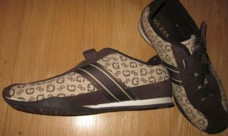 Brown Logo Fashion Velcro Sneakers Style Gale Womens Size 7 5