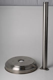 Floor Standing 41 000 BTU Propane Powered Patio Heater Scuffed