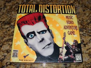 Total Distortion Macintosh Mac Computer Game New SEALED