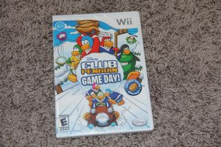 Club Penguin Game Day Wii 2010 New SEALED 712725017088